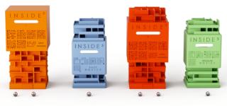 INSIDE CUBE - Jeu casse-tête matière plastique - co-développement MICROPLAST